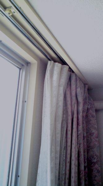 カーテンボックス一体型窓枠