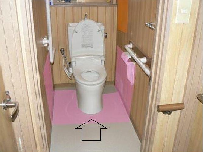 尿汚れ壁床