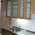 キッチン交換N邸⇒吊戸棚・壁を残し部分交換する