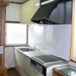キッチン交換T邸⇒窓に邪魔されずキッチンを取り付ける