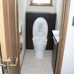 収納充実+お掃除簡単トイレ